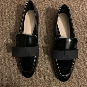 Zara Patent Leather Loafer